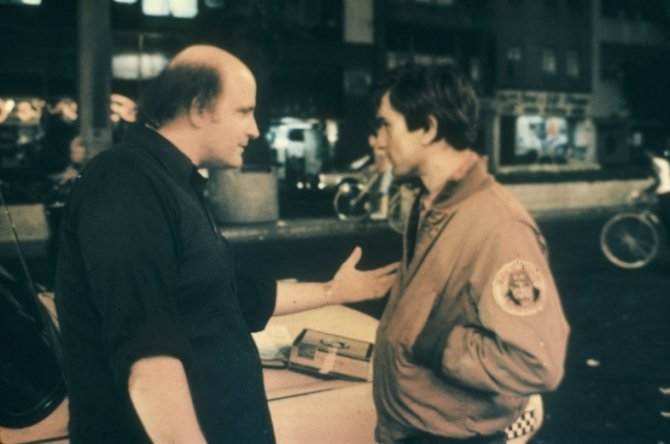 Happy Birthday to Peter Boyle, here with Robert DeNiro in TAXI DRIVER!