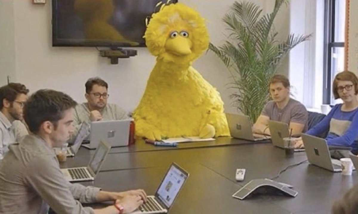 Every meeting when you suffer from imposter syndrome