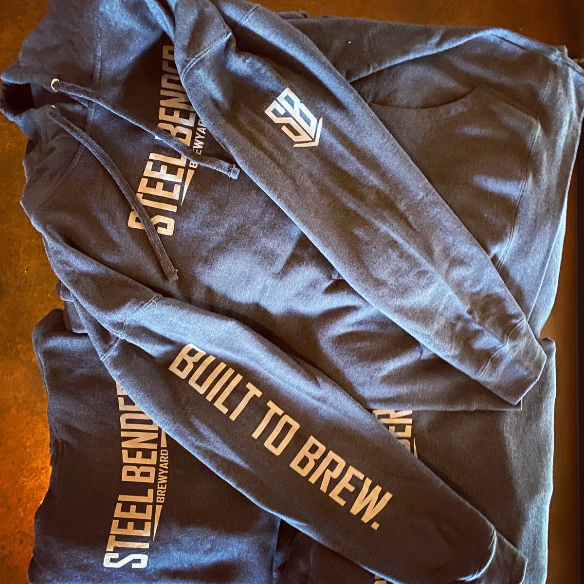 NEW MERCH ALERT! ⠀ #GetYourSBBOn and with super soft, medium-weight navy hoodies, just in time for fall!⠀ Unisex sizes S-2XL are $40/$42 (2XL), branding on front and both sleeves. Taproom purchases only. Apologies, no exchanges or returns during The VID. ⠀⠀ #BuiltToBrew https://t.co/bRAavVP1zq