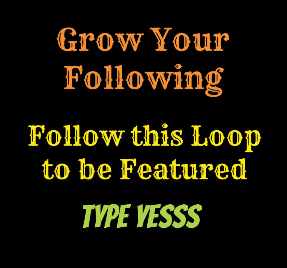 Grow your Following and Join this Loop  1. Like 2. Comment  3. Follow anyone who comments Yessss  #Like #FolloForFolloBack #weekend #commentbelow https://t.co/2mHoKGzMw6