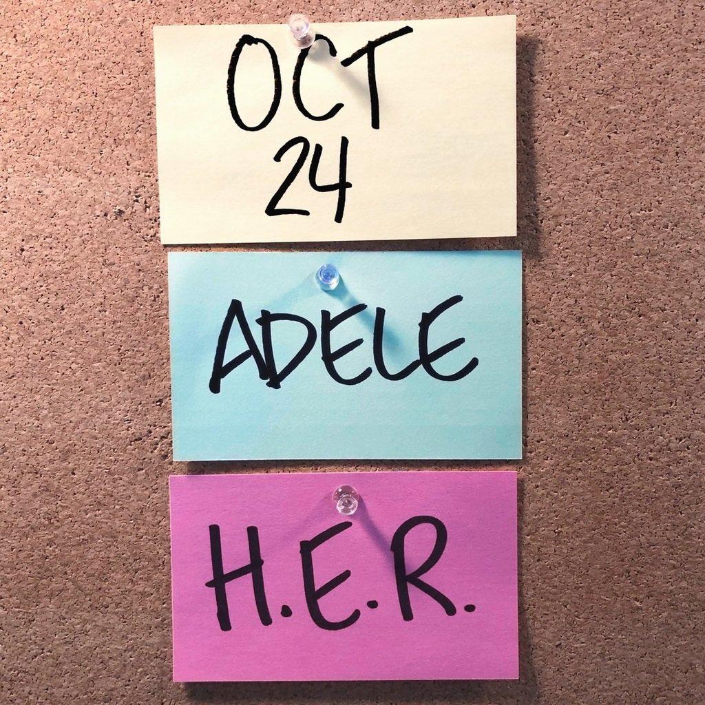 Adele (@Adele) on Twitter photo 2020-10-18 18:16:50