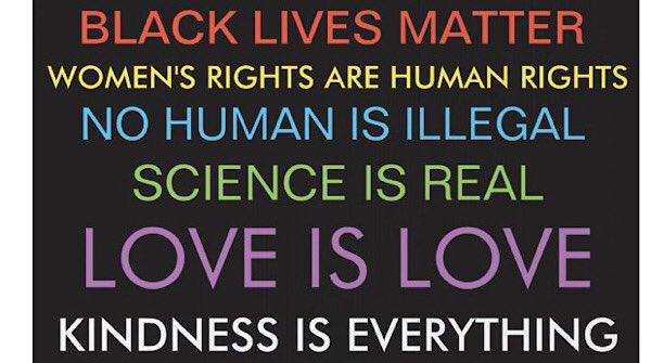 @ASlavitt #BLM #LoveIsLoveIsLove #ForAllTheLittleGirls #WomensRightsAreHumanRights  #WaterisLife #NoHumanIsIllegal  #Science  #KindnessMatters #BidenHarris #BidenHarris2020 https://t.co/uWS7xRk0Av