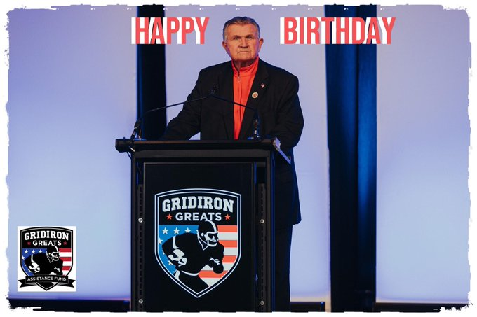 Wishing Coach Mike Ditka a very Happy Birthday!!
