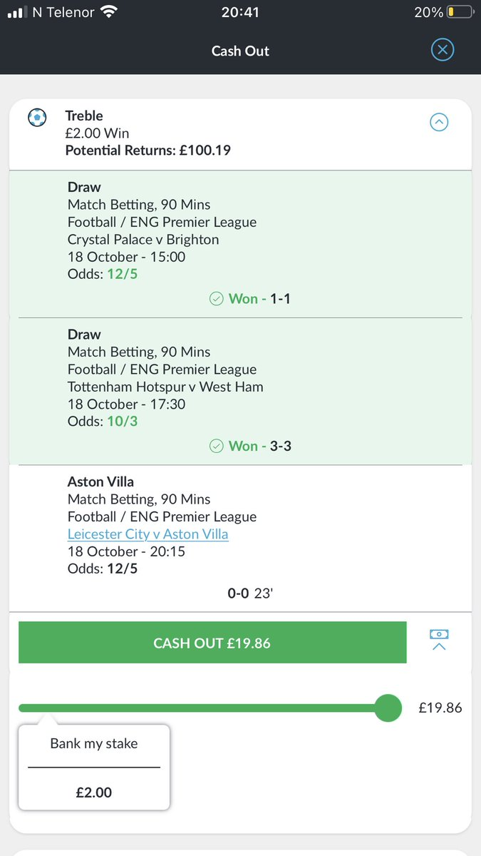 Come on Aston Villa #betting #FootballKnowledge 😅 https://t.co/BvCEDHOJwW