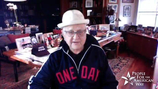 The proverbial father of Archie Bunker, @TheNormanLear, doesnt think theyre alike at all - Archie would have had #ENOUGHofTrump after being let down repeatedly by his false promises and failure of leadership. We couldnt agree more! Make sure you help #GetOutTheVote this year!