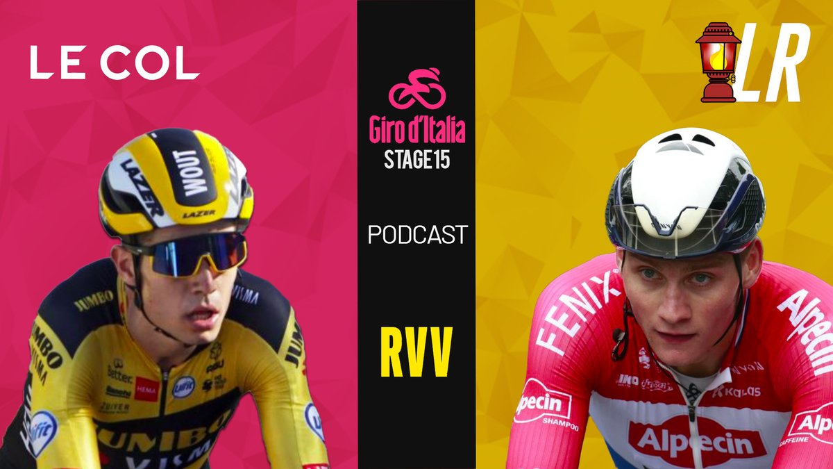 Our #RVV20 and #Giro recap podcast is out! 🙌  We dive into an in-depth analysis of all three races (#RVVmen, #RVVwomen and #Giro). 🚵‍♂️  Van Aert vs. Van Der Poel (and the misfortune of Alaphilippe). 😎  📺 https://t.co/Lk3wqEdVG4 🎙️ https://t.co/JkfmWr0PoD  #LRCP https://t.co/STEpinj0u6