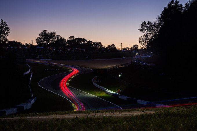 When the road is winding...…