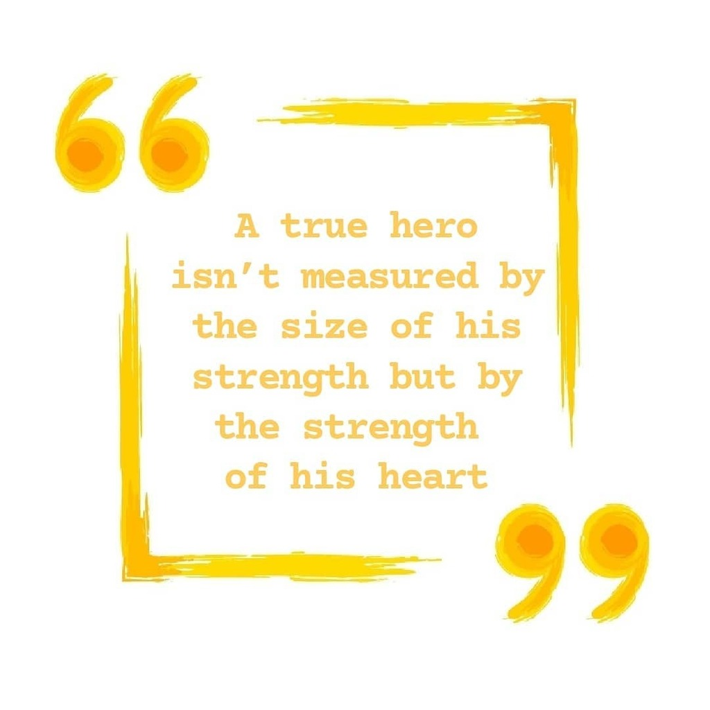 """""""A true hero isn't measured by the size of his strength but by the strength of his heart""""   Zeus Hercules https://t.co/64czrKThmA https://t.co/2iTslciwND"""