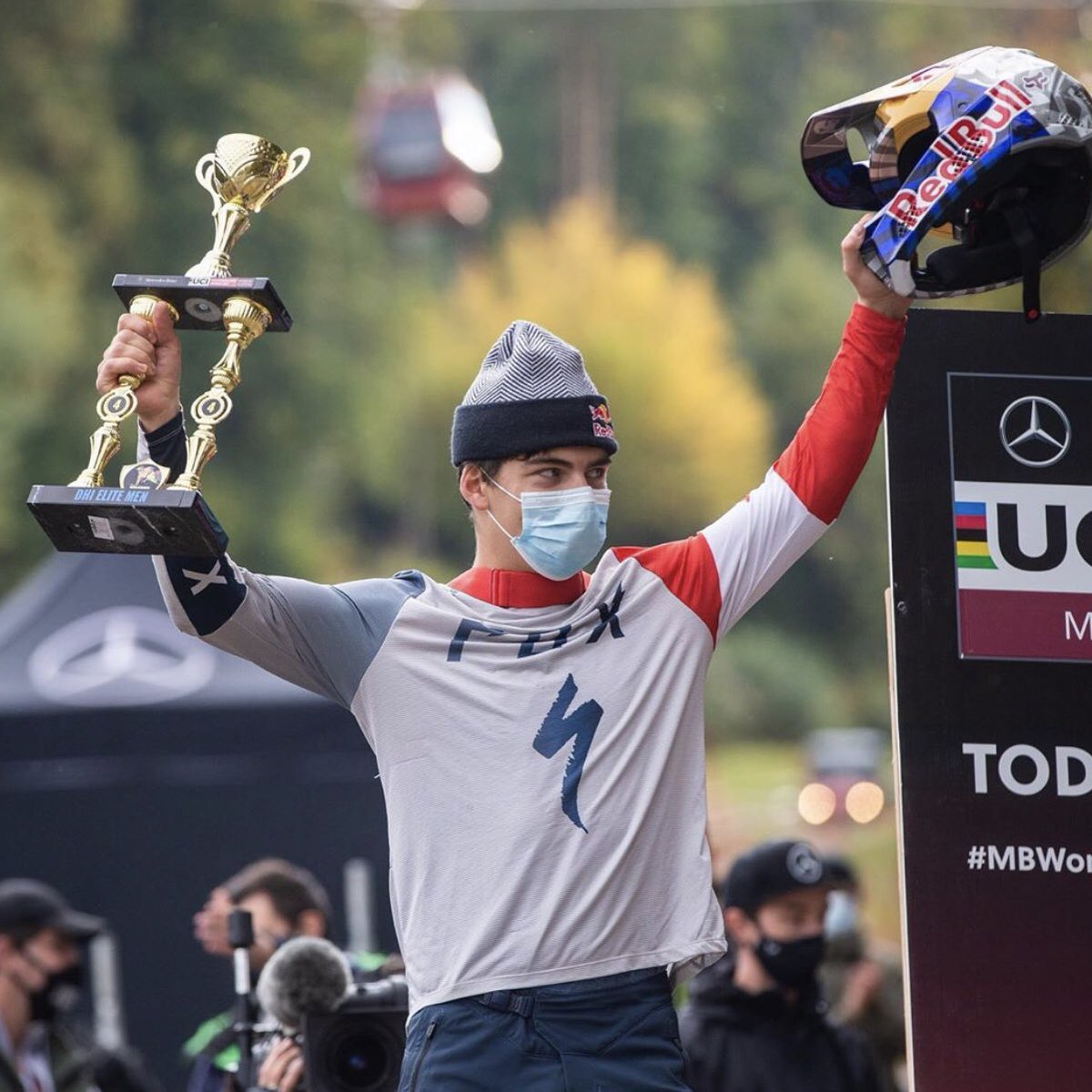 test Twitter Media - First podium of the season 🏆  Finn Iles finishes fourth in Maribor at the second round of the DH World Cup 👏👏 https://t.co/dchzCck0uv