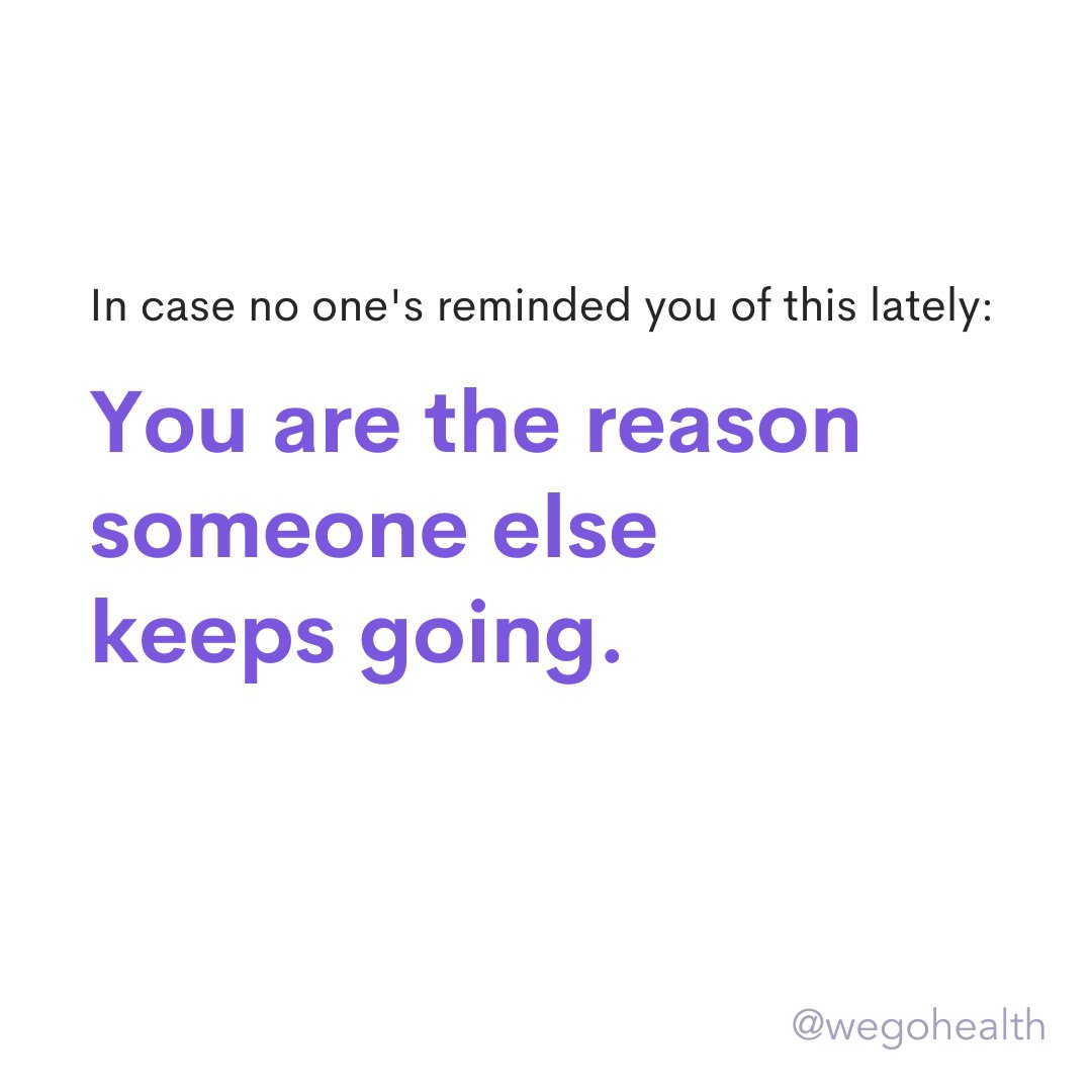 ⭐️ Tag the person who encourages you to keep going when times are tough.⭐️  Let's remind others of how impactful their presence and support is. https://t.co/mvWFhkvMth