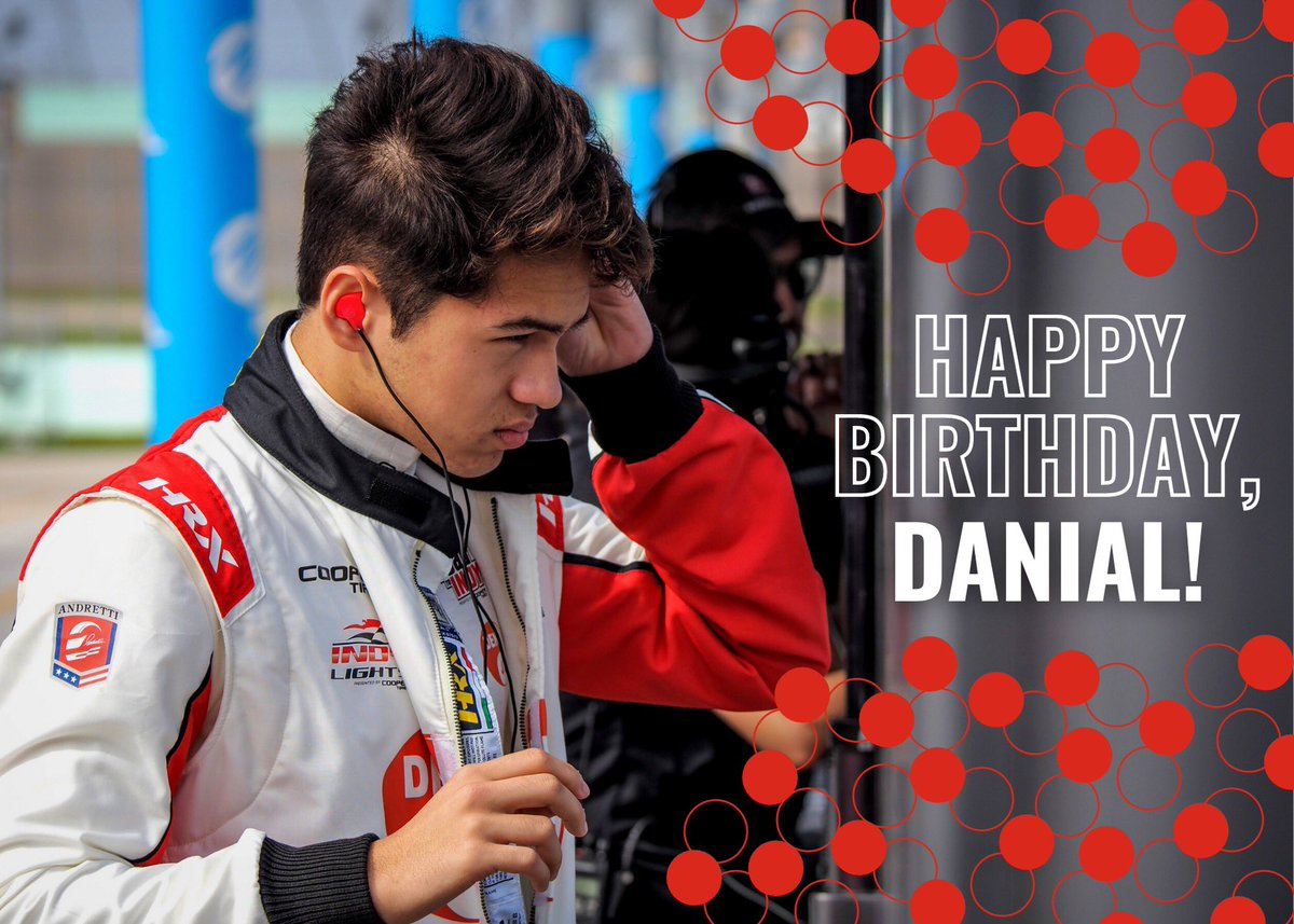 Happy Birthday, @Danial_Frost! 🎉  #AllAndretti https://t.co/BNRPL2C0St