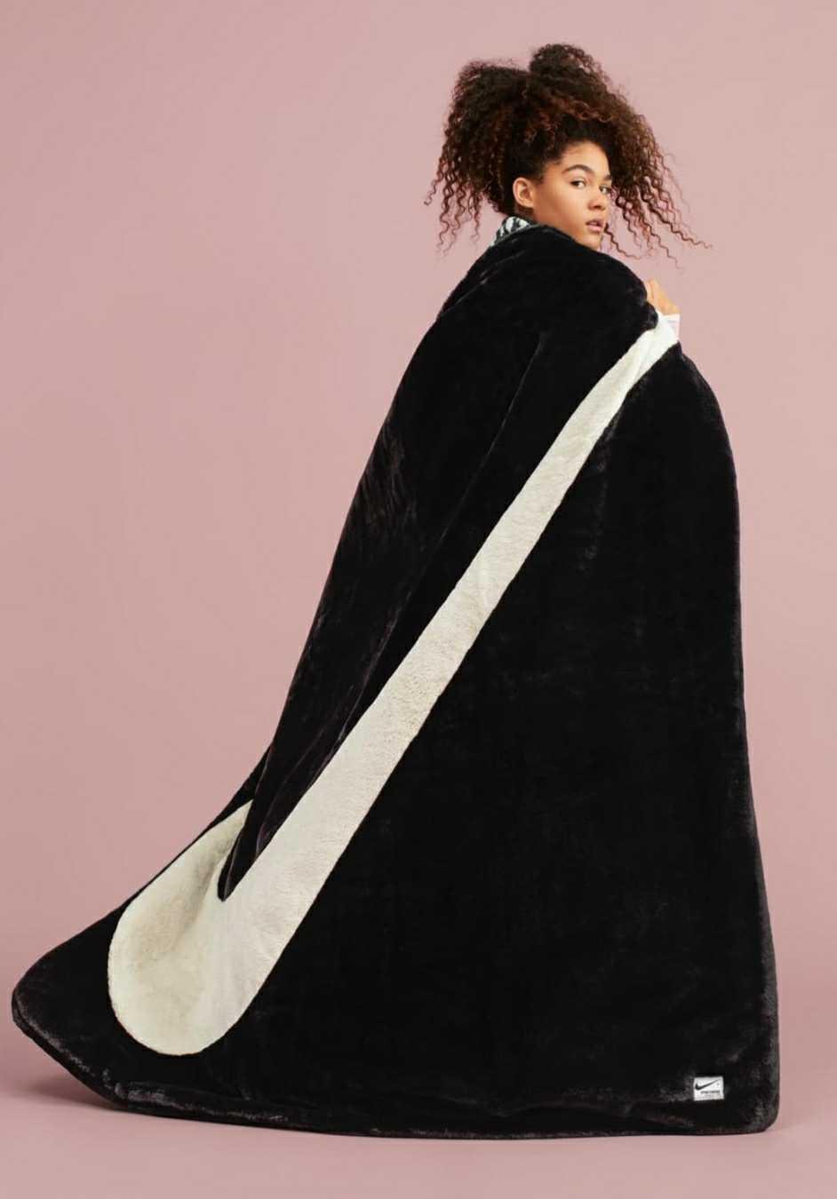 Nike Sportswear Faux Fur Plush Blanket