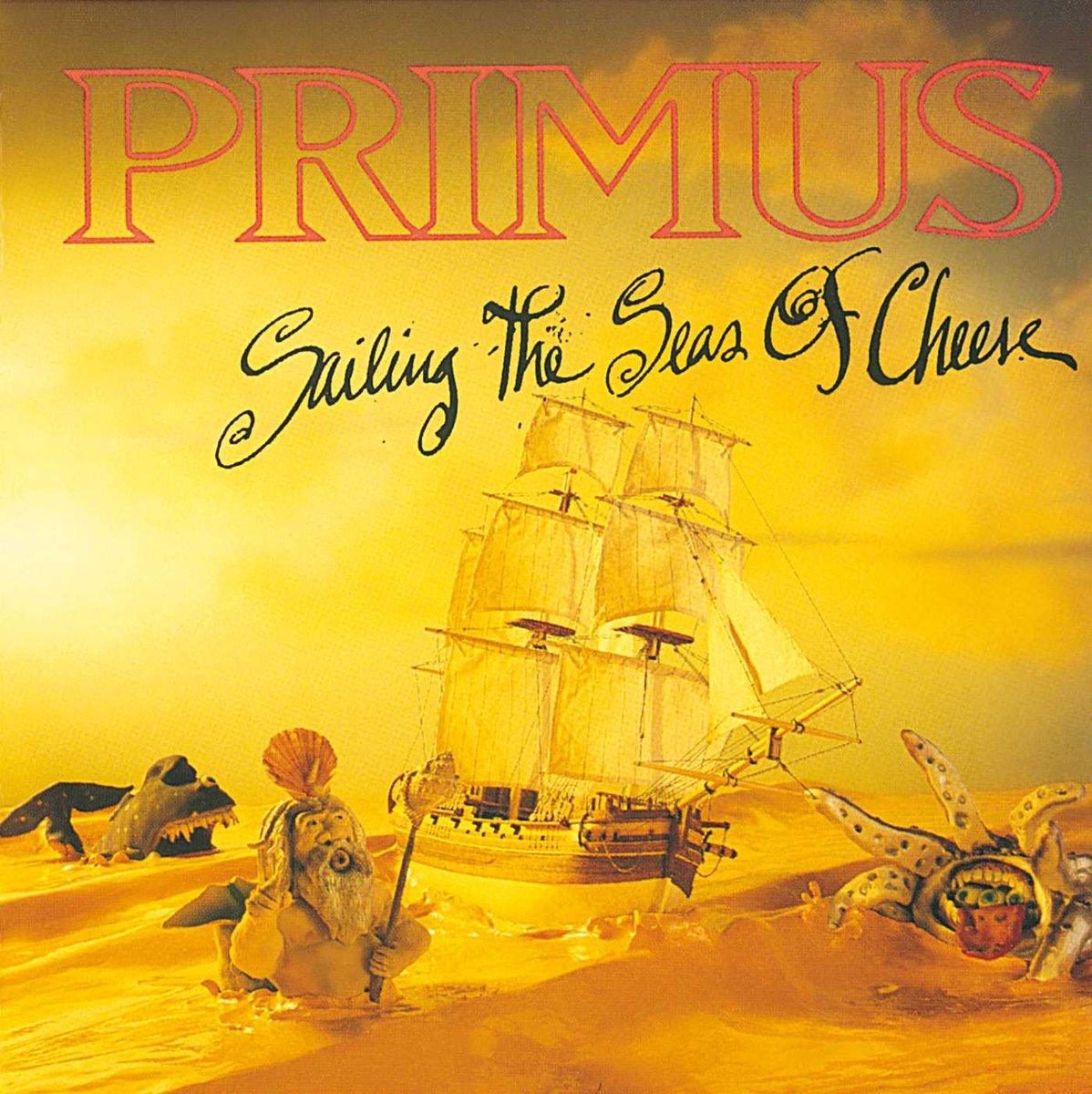 "#NowPlaying PRIMUS ""Sailing the Seas of Cheese"" full-length album on CD from 1991 on Interscope Records! Excellent #AltMetal from California! ""Jerry was a Race Car Driver"" is such a great track! Les Claypool is one of the all-time great bass guitarists! #ProgMetal #MusicIsLife 🤘 https://t.co/LQA8LnMTDM"