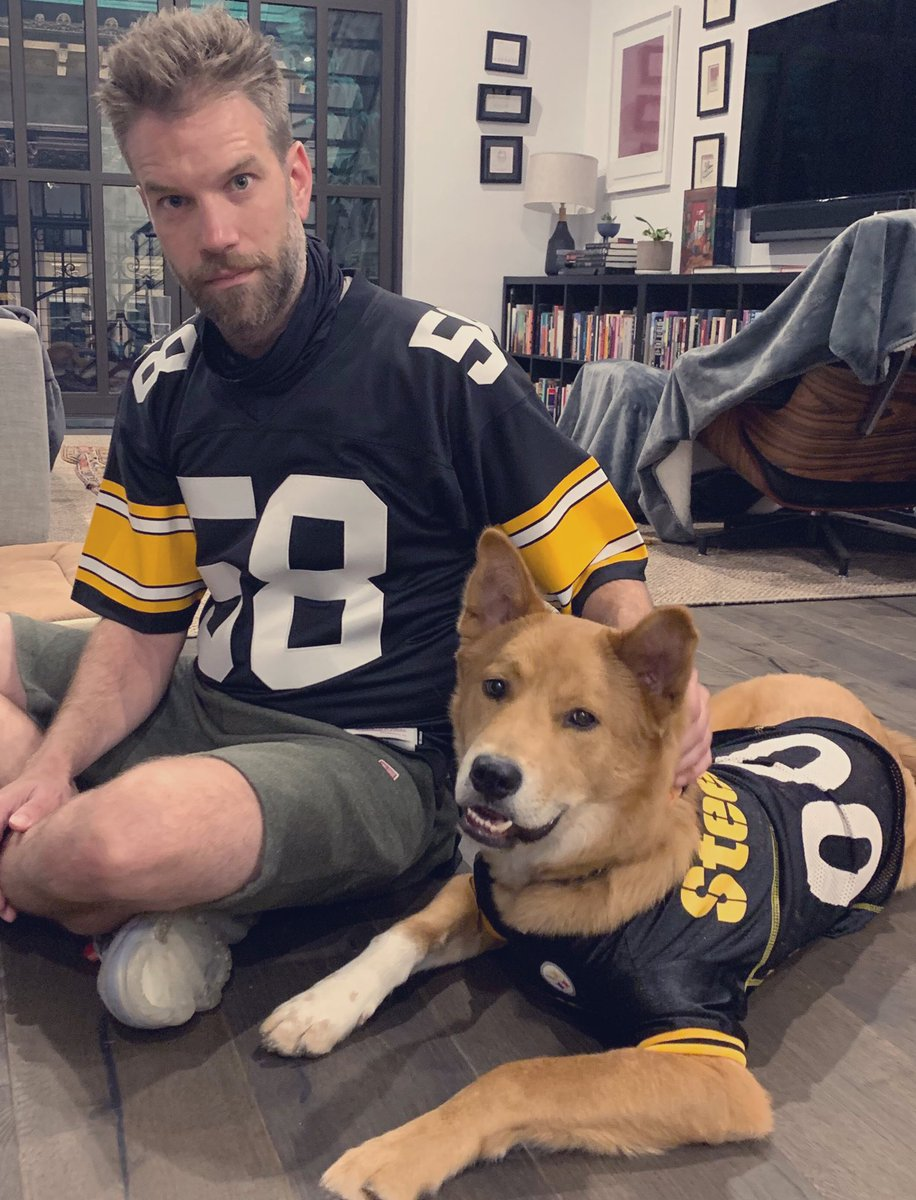 The Pittsburgh Steelers are undefeated since I got my dog.