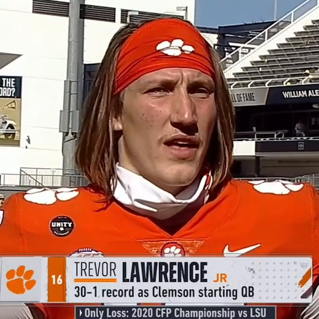 @accnetwork's photo on Trevor Lawrence