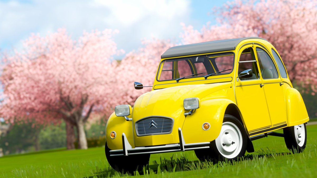 Car 557 - 1981 James Bond Edition Citroën 2CV6  #ForzaHorizon4 #ForzaShare #Xbox #Forza #HorizonPromo https://t.co/k4Od4HLVBx