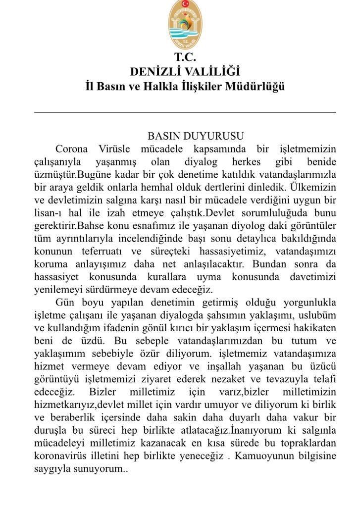 @LCogun @bilio_muydunuz Amenna, doğru. Lâkin Gamze İlgezdi hiçbir zaman özgür dilemedi. Battal İlgezdi aynı.  Fakat Denizli Valisi Ali Fuat Atik hemen hatasını anlar anlamaz kamuoyu önünde af diledi. https://t.co/YVZaDV0Lph