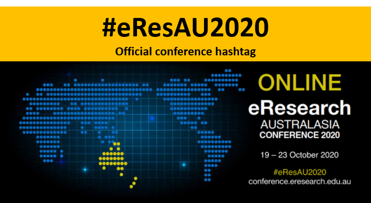 This week the @AusBiocommons team is at #eResAU2020. We've got lots of great talks and posters lined up. Come along to hear about what we've been up to.  https://t.co/z8wNh3F5Je https://t.co/1ofPt6STaS