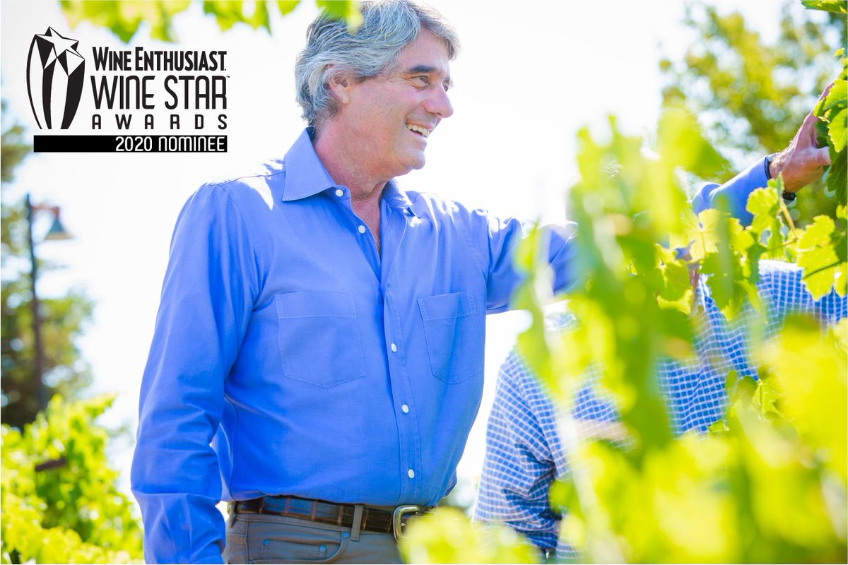 We're raising a glass to celebrate Jeff O'Neill, Owner & Founder of O'Neill Vintners and Distillers, for his nomination for Wine Enthusiast's 2020 Wine Star Award for Person of the Year. https://t.co/IaksuFmXaX