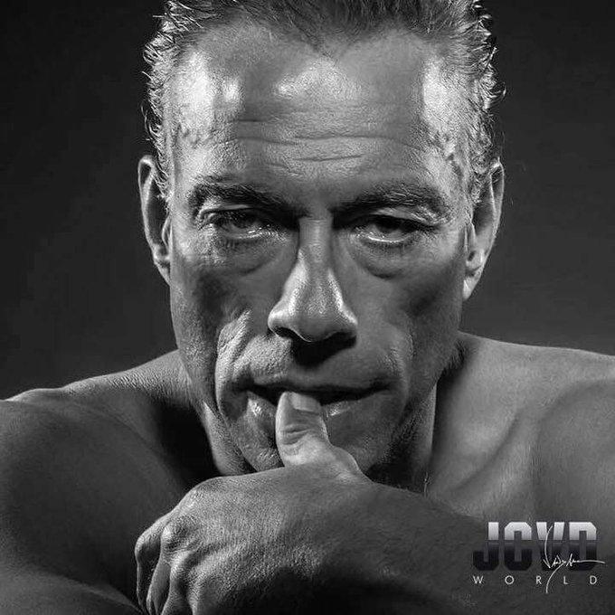 Happy Birthday Jean-Claude Van Damme    Photo by Renaud Corlouër