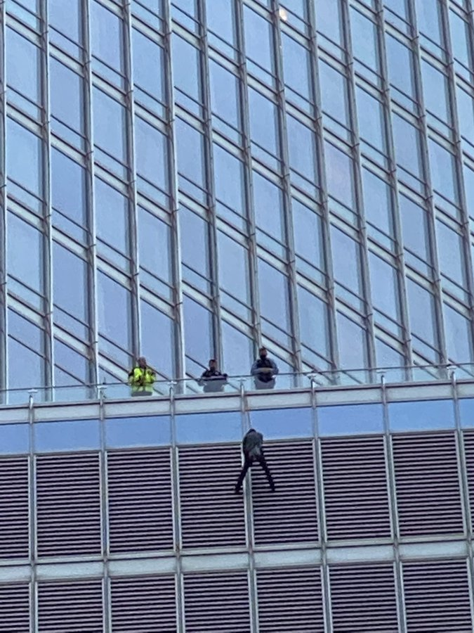 Chicago Man Dangles from Trump Tower for 5 Hours Finally Rescued