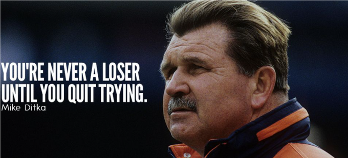 Happy 81st birthday to Da Coach! Iron Mike Ditka!  p.s. Da Bears are 5-1.