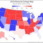 Image for the Tweet beginning: Since Saturday's update @ElecCollPolls logged