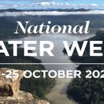 Image for the Tweet beginning: It's National Water Week. Held