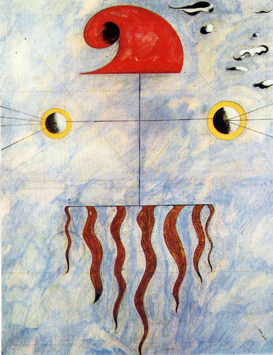 Head of a Catalan Peasant (2), 1925 #miro #surrealism https://t.co/v0iqKKfJ9k