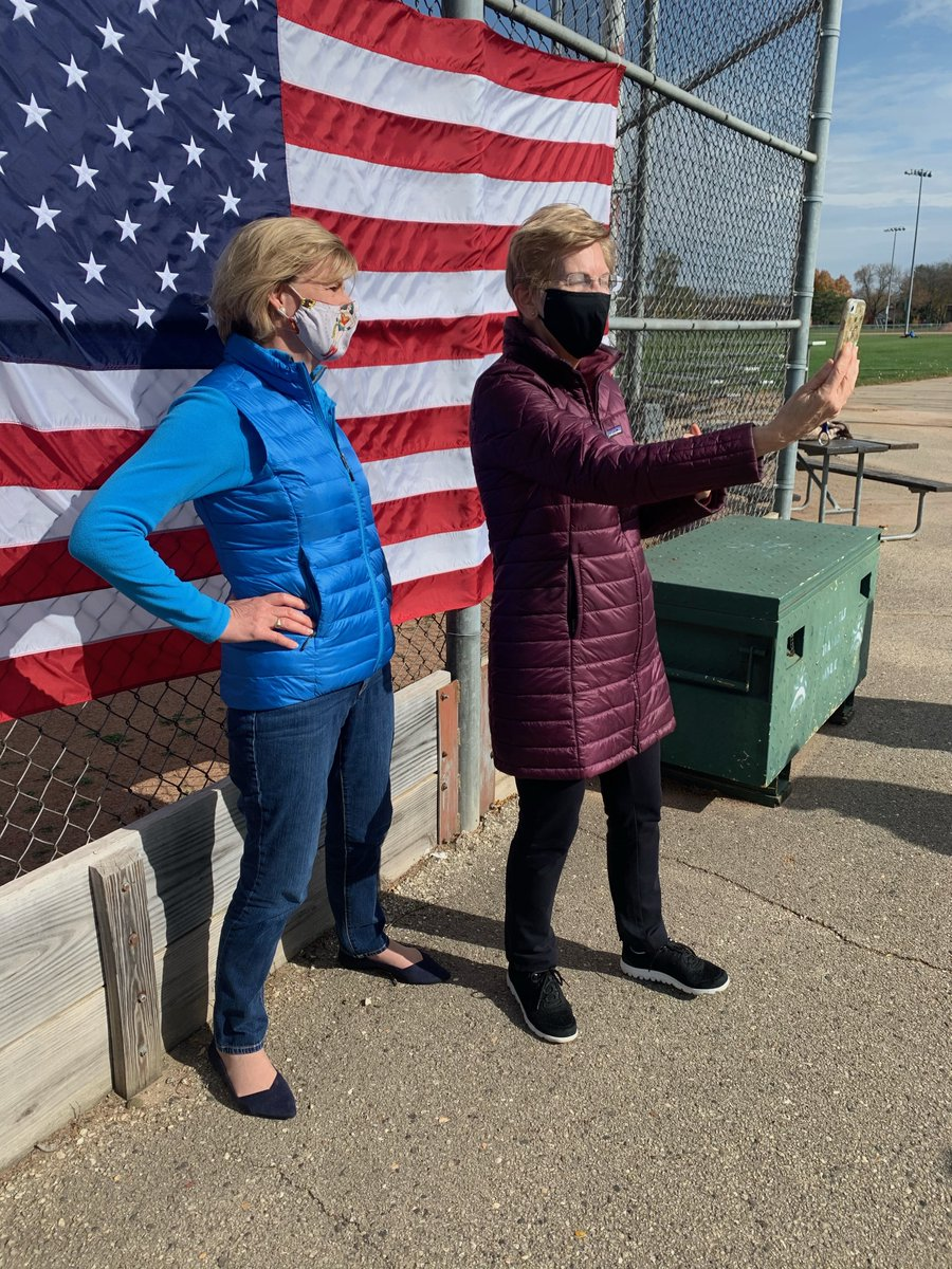 The challenges we face are enormous. But after spending the weekend with voters in Wisconsin and Minnesota, I'm reminded that hope isn't given to us—it's created by us.   We don't get what we don't fight for, and we are fighting for our democracy. 16 days to go. https://t.co/WmDkoGXPqV