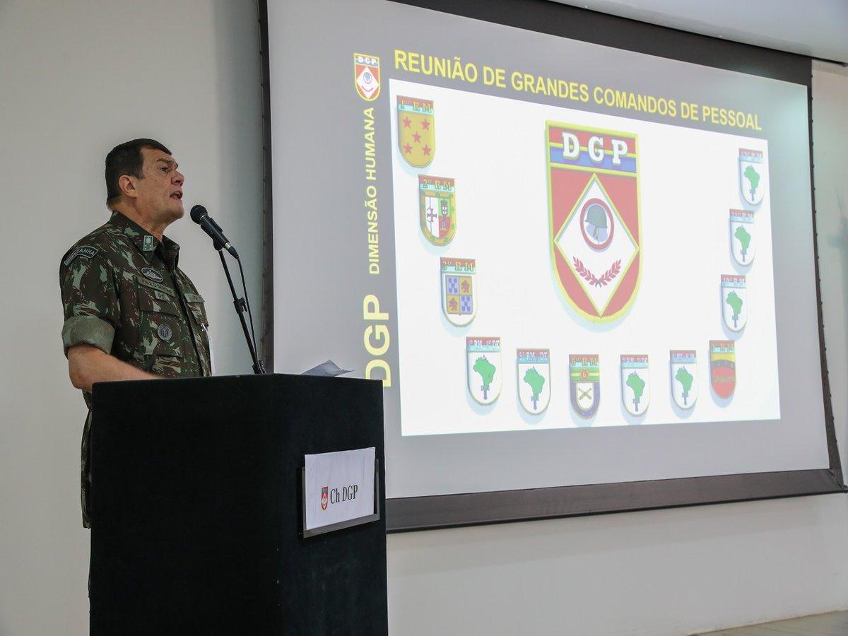 Reunião de Grandes Comandos de Pessoal debate melhorias na gestão de recursos humanos e da saúde do Exército https://t.co/hZDmN4mvLh #BraçoForte #MãoAmiga https://t.co/OvBeFmGGCj