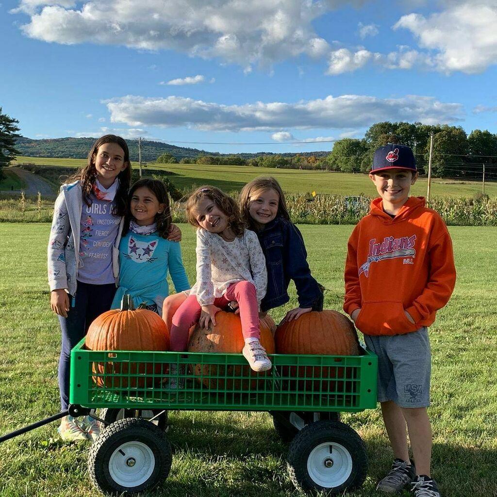 #pumpkinpicking! #oldfriends #bestfriends #everyyear #annualtradition :) (at Wallkill View Farm Market)  https://t.co/BlwtDwsABP https://t.co/h678MN1hnj