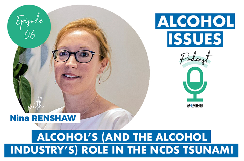 "📣OUT NOW Episode 6 of the #AlcoholIssues podcast   👉🏼https://t.co/VTnDU5yNeT  For the 6th episode host @maikduennbier is talking with @ninawren of @ncdalliance💥 ""Alcohol's (and the Alcohol Industry's) Role in the NCDs Tsunami""  #AlcoholHarms #BigAlcoholExposed #ActOnNCDs #CDoH https://t.co/GbQ5pEsLZh"