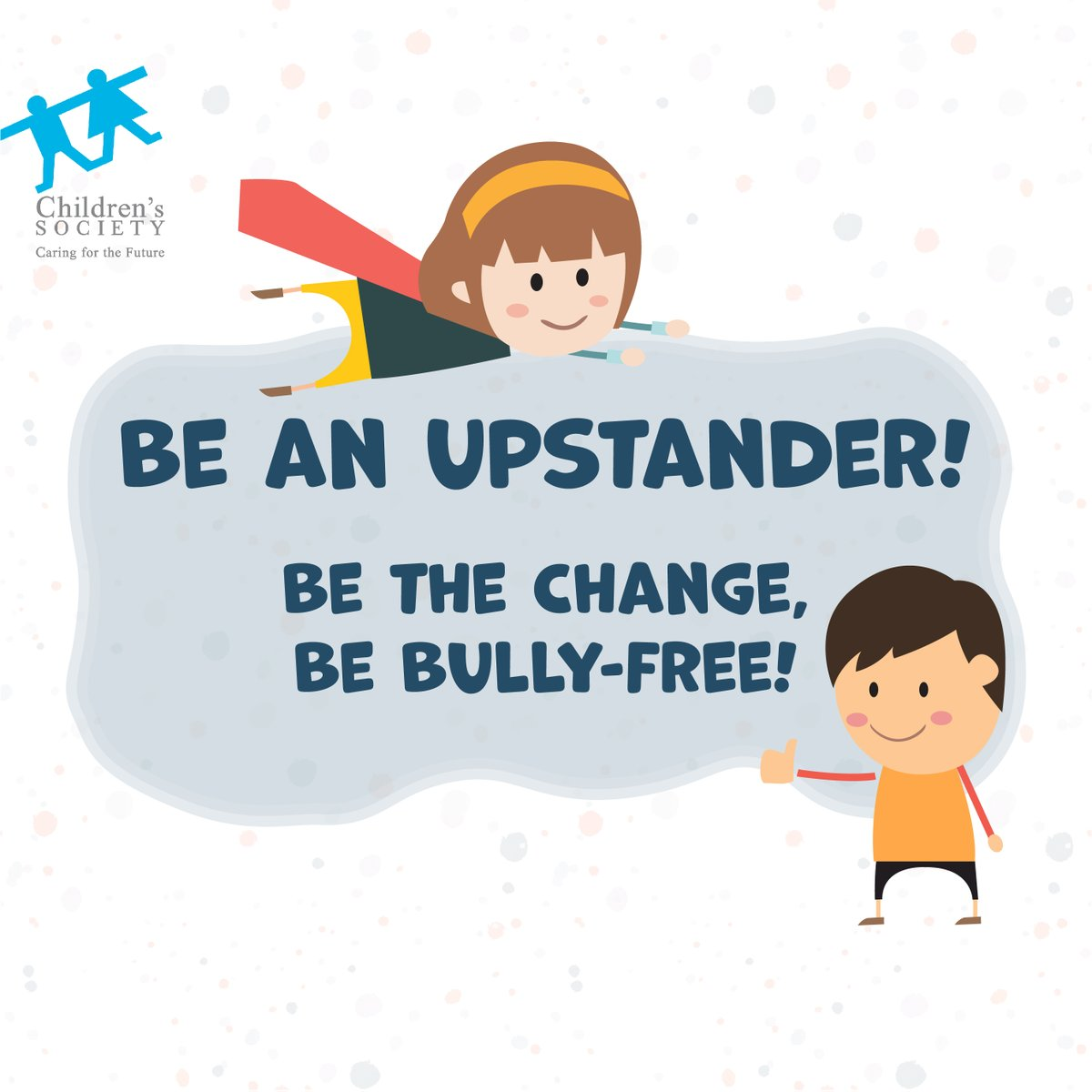 Regardless of the type of bullying, bullying causes pain and hurt. If you know of someone who is being bullied, please stand up, speak up and act immediately to provide support. #BeAnUpstander