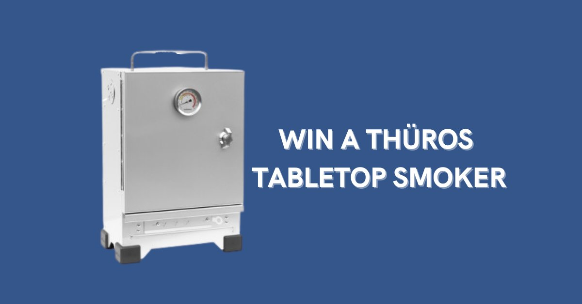 Want to WIN a @thuros_UK Tabletop Smoker?   Enter now: https://t.co/0BCQO1W9fL https://t.co/o2CEa2SvIV