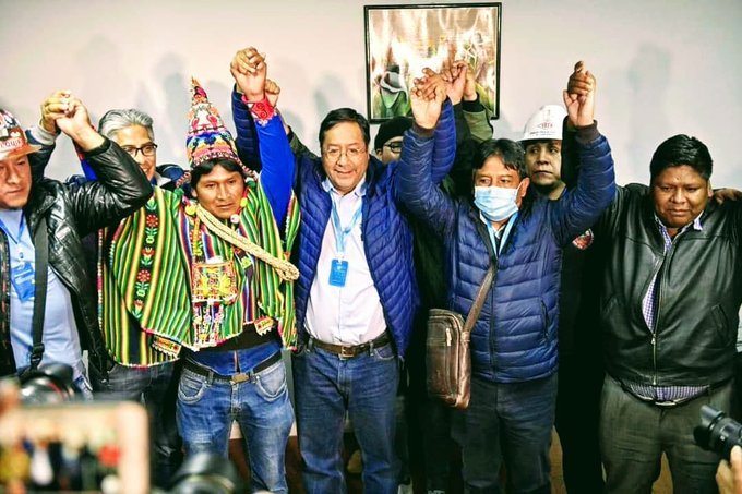 Luis Arce, virtual president of Bolivia; MAS Evo's party is back