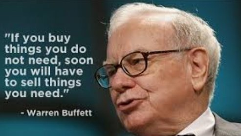 #quoteoftheday If you buy things that you don't need, soon you need to sell the things that you need. - Warren buffett #mondaythoughts #finance https://t.co/0hQhYGqF0n