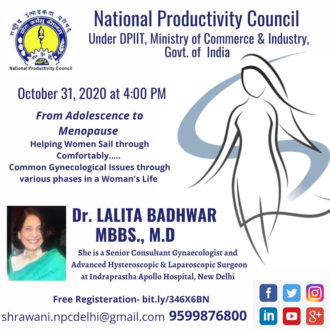 India has nearly 253 million adolescents whose good physical, mental and emotional health is key for the country's growth and development. Join NPC webinar on Adolescents health disorders from Gynaecologist Expert on 31st Oct at 4:00 PM Register Now- https://t.co/M0KyTk2UwO https://t.co/TofsimoOuf