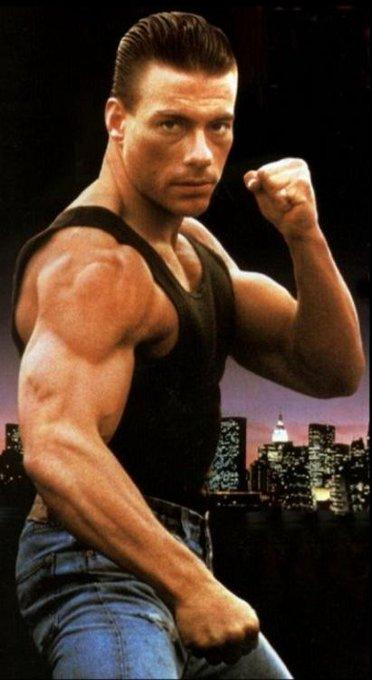 Happy Birthday to my greatest action hero Mr. Jean-Claude Van Damme 60 years old...