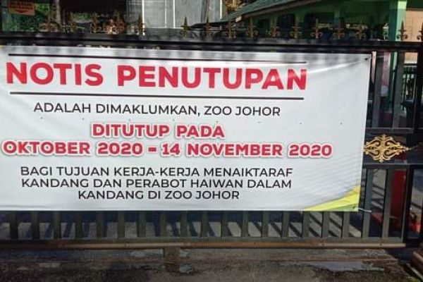 Johor Zoo closed for upgrading works #myedgeprop  https://t.co/O6xHscIde7 https://t.co/MTQiK1IWmX