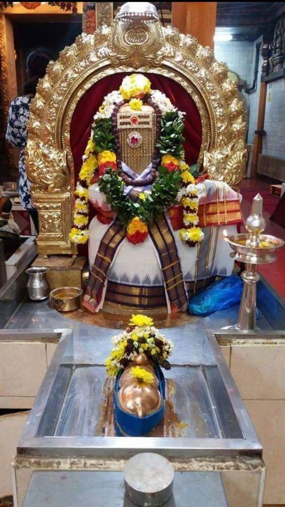 Photo Credit: Nalayni 121 from Pinterest ( https://t.co/Z69uFmhQ4l ) May Lord Shiva bless all of us 🤗. #namastegod #shiva #lordshiva #kedarnath #kashi #hindu #haraharamahadev #mahadev_har #jyotirlinga #linga #somanath #somnath #mallikarjuna #mahakaleshwar #omkareshwar https://t.co/olIs3FFYFC