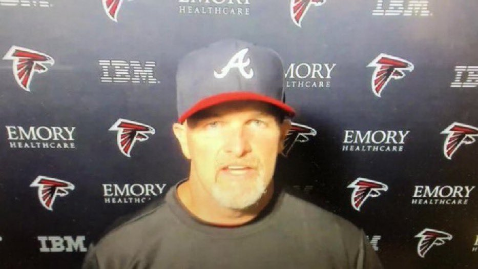 "NOTSportsCenter on Twitter: ""BREAKING: Dan Quinn named NLCS MVP for the  Dodgers after he was seen wearing this hat and cursing the Braves… """