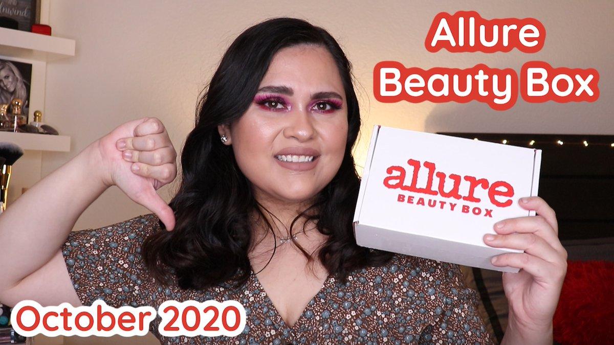 ¡NUEVO VIDEO! Tenemos el #unboxing de @Allure_magazine Beauty Box del mes de octubre ¿Valió la pena el aumento de precio? ¡Averígualo aquí! ⬇️ https://t.co/0G5BMocVVj #allurebestofbeauty #allurebeautybox #allure #October2020 #beauty #makeup  #beautybox ##beautysubscription https://t.co/xMi4sHzPGM