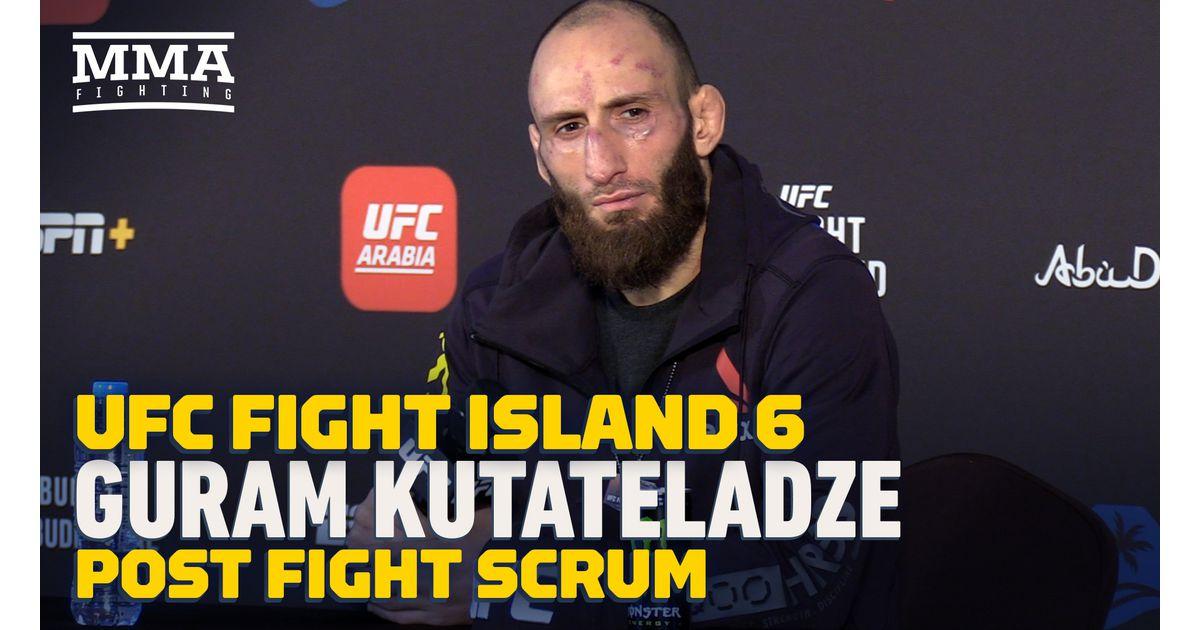 Video: Guram Kutateladze offers to fight Islam Makhachev at UFC 254 following win over Mateusz Gamrot https://t.co/pPqGJzrp8Y https://t.co/RYtn7qE9tX