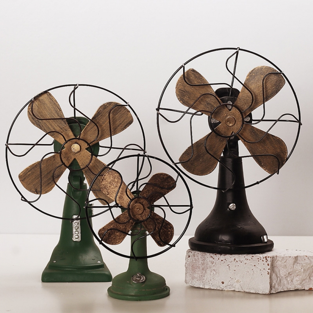 Retro Desktop Fan Decorative Figurine #gardening #idea https://t.co/wnqVRzRgsq https://t.co/IEwfmYLIHm