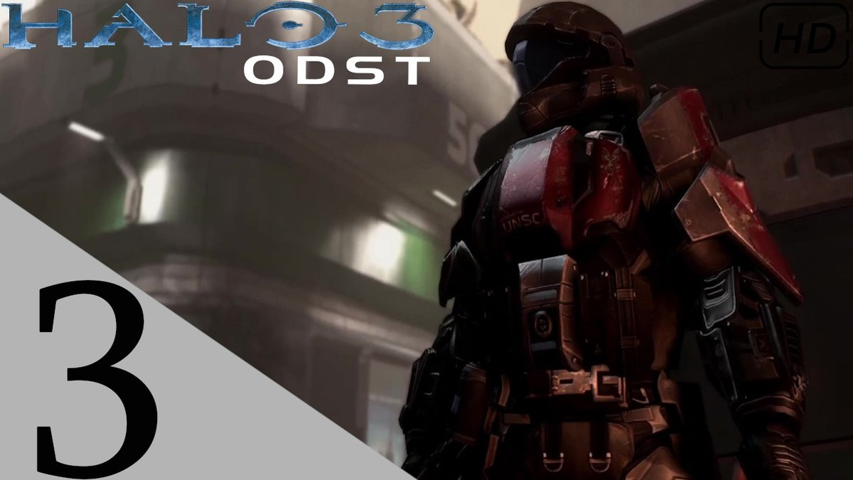 I'm Back On These Streets!  Check out the next part to our Halo 3: ODST adventure right here https://t.co/9khSa7yuKu https://t.co/79vUhnf3IE