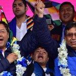 Image for the Tweet beginning: Felicidades al heroico pueblo boliviano