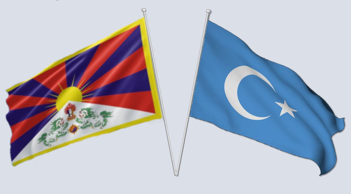@Perseus852 @Madmax07346763 Super cool. My son loves that one because it also names #Tibet, #HongKong and #Mongolia . It missed #EastTurkestan so I'm putting their flag here.  #BoycottChina https://t.co/PRMxhHknKt
