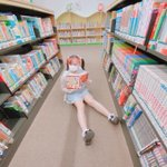 Image for the Tweet beginning: #読書と女子 のタック忘れましたからもう一度投稿します_(:3」z)_   #ミスid2021 #CHEERZ #読書と女子