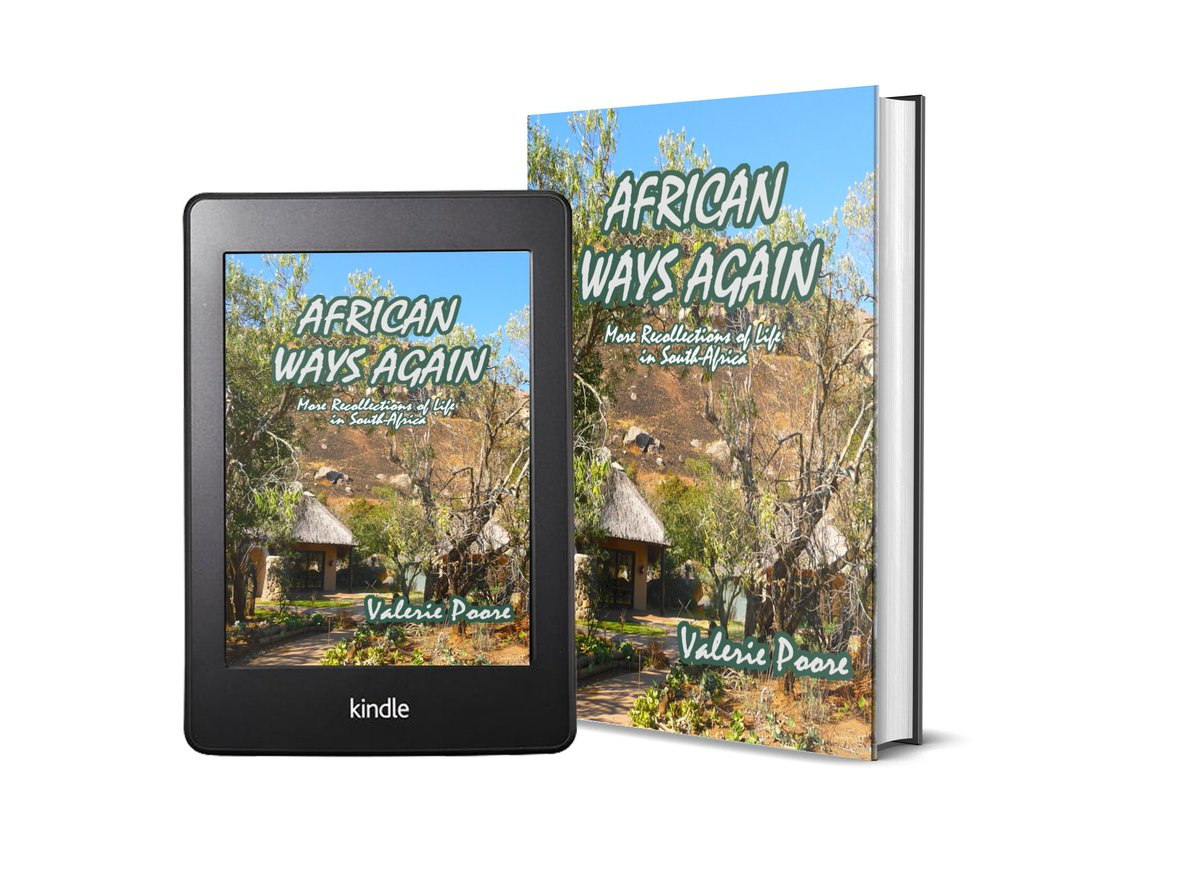 """Just 99p/c this week on #KindleCountdown! The second phase of my #SouthAfrica life in a small rural village wiith a cast of colourful locals https://t.co/f7h9SOiyCM """"Wonderful vignettes"""" """"domestic life that's somehow a page turner"""" #welovememoirs #travel https://t.co/M8OpWP8uM3"""